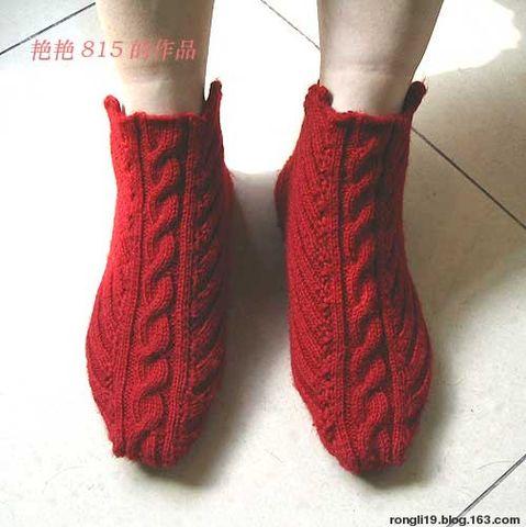 新款毛线袜套 - 悠兰雾香 - 悠兰雾香的博客