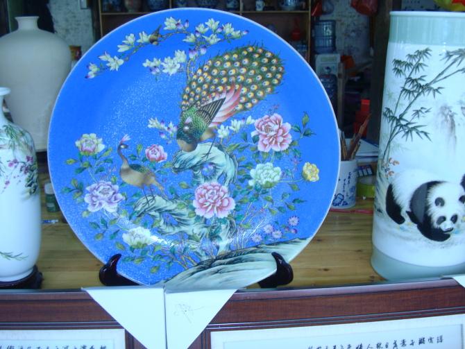 中国景德镇瓷器 - 百灵鸟的日志
