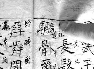 重庆酉阳发现神秘文字 - 张羽魔法书 - 张羽魔法书