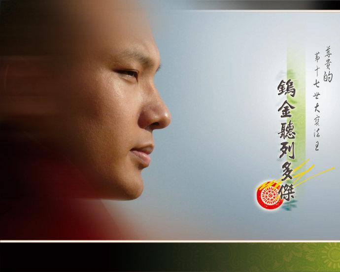 大宝法王书卡片花欣赏(看则祝福) - 果华 - 噶玛巴千诺!