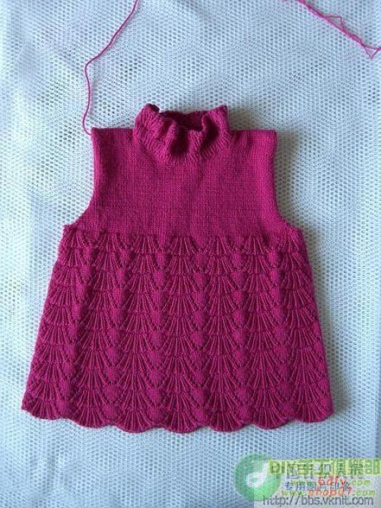 裙式毛衣和详细编织说明及图解 - bird-sj - 夏天的云
