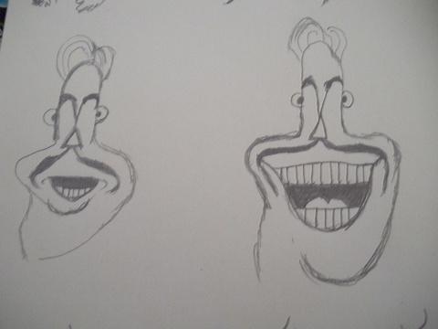 给你画上一张笑脸作文_画笑脸表情_画笑脸表情分享展示