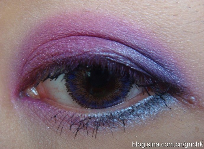 Sleek Acid 盤粉紫藍色真眼試妝 (附 NARS Iceland 暈染後效果) - 小住住 - 住住美妝瘦身分享 (網易版)