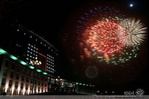2009年元宵节焰火晚会 - 暖阳 - 霍庆的博客