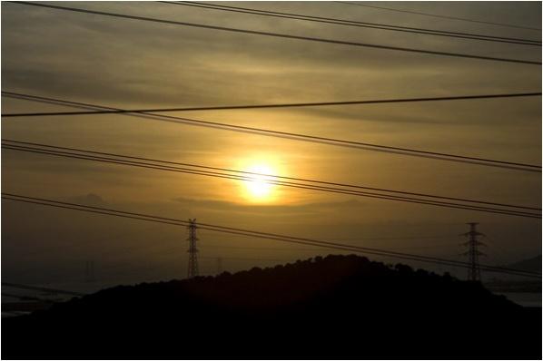 [原]深圳·南山·黄昏时分 - Tarzan - 走过大地
