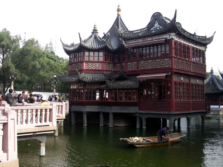 (原创)豫园商城经典建筑(一) - 语溪子 - 语溪子的博客