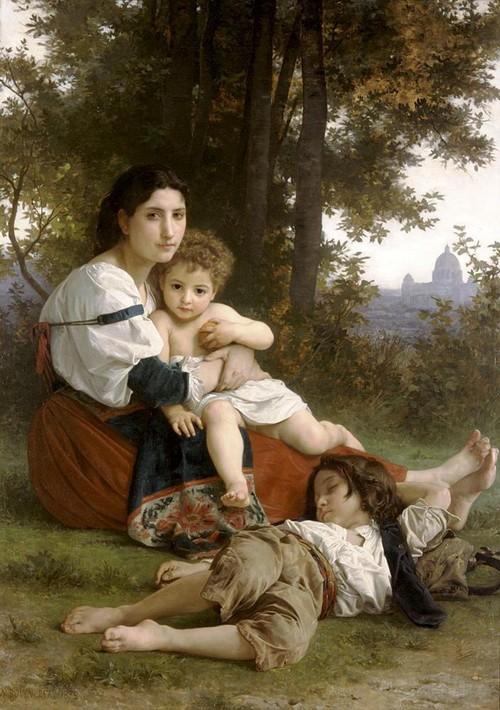 一样的乡愁:西方现代古典主义油画欣赏(图.编选) - 流通 - 流通的博客