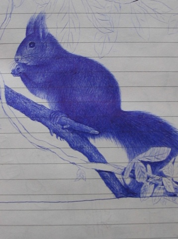别人用油笔画的~~~ - yudi.cd - yudi.cd的博客