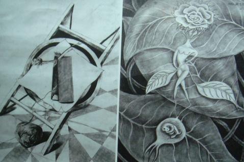 创意素描结构与重构
