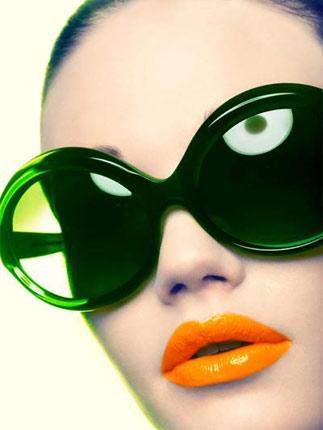 夏季唇色搭配彩色太阳镜(美图) - 玄缘精舍 - 玄缘子
