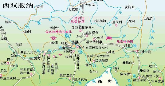 丽江到昆明的地图