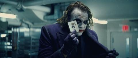 黑暗骑士的主角-小丑 (误):why