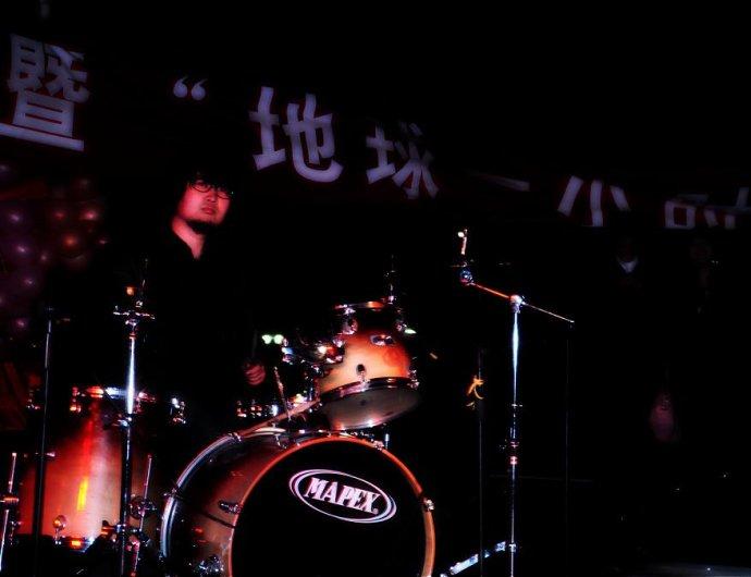 2010年3月27日南无乐队参加对外经贸大学地球一小时活动 - 南无乐队 - 南无乐队的博客