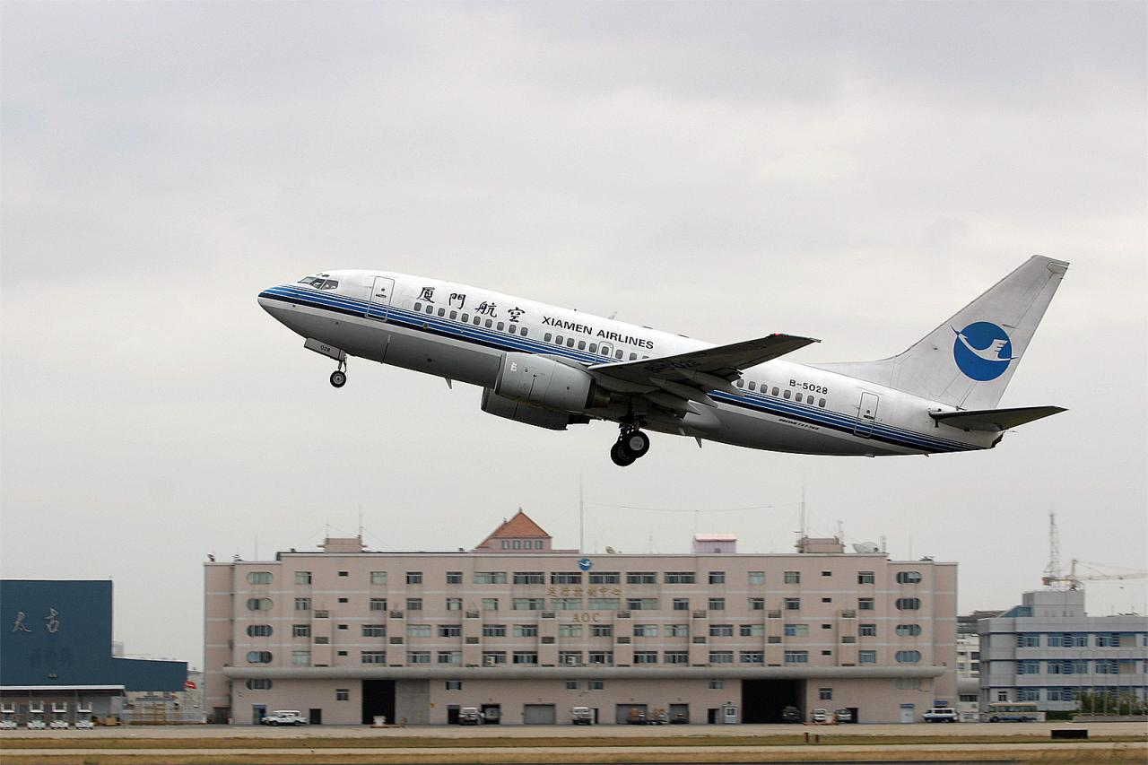 航空公司介绍:厦门航空