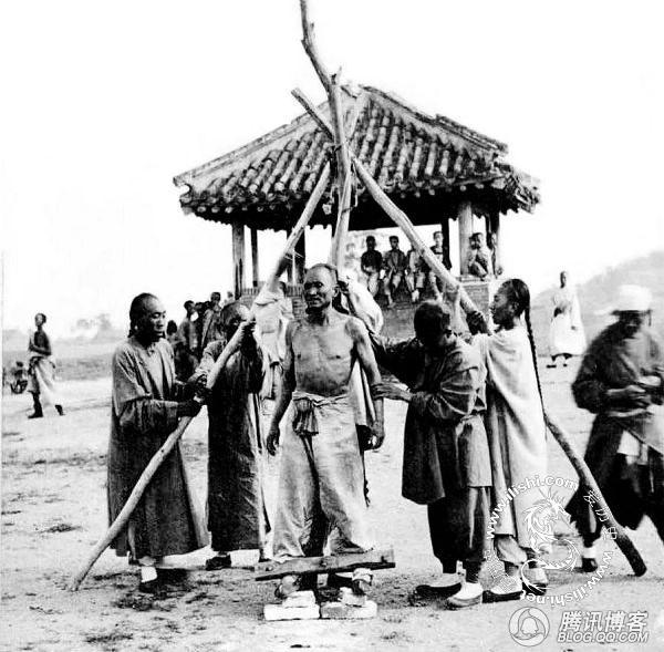 老照片中的古代示众刑罚 - 安一安一的日志 - 网易博客