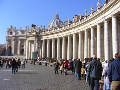 天主教的圣地--梵帝岗(原创摄于2007年01月28日) - 风和日丽(和佬)  - 鹿西情结--和佬的博客