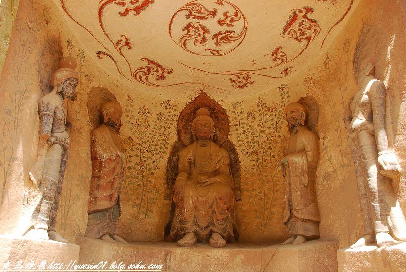 青藏高原之行____炳灵寺和麦积山的石窟 - 西樱 - 走马观景
