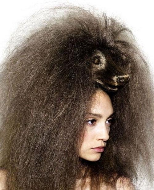 【搞怪】回头率200的发型  - 望月幽灵 - 望月幽灵的博客