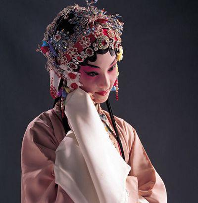 从小宝钗的昆曲扮相说起 - 米兰Lady - 兰笺