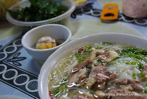 【越南】拜寨的那碗米粉 - yi78 - 玫瑰上的雪的博客