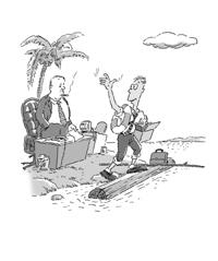 辞职是要离开主管 - 恒明 - 恒明经管书