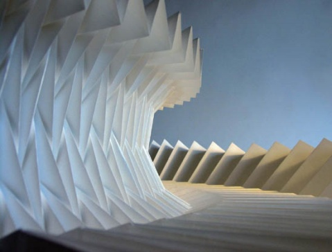 引用  美丽的折纸艺术(图) - 画出彩虹 - 画出彩虹