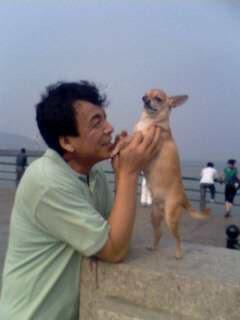 [原创]关于爱犬------欢欢 - 沉沙老蚌 - 竹林守望者[沉沙老蚌原创空间]