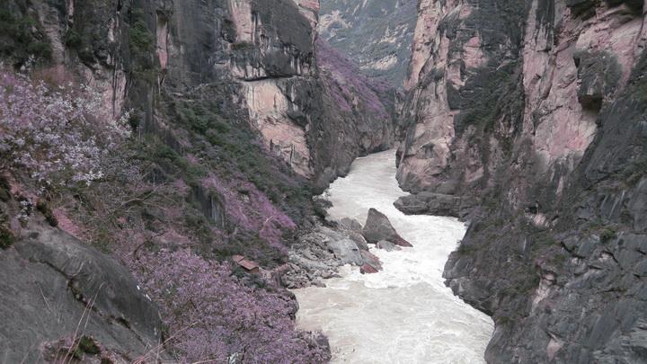 虎跳峡 - moon - 采菊东篱下 悠然见南山