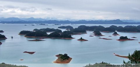 到此一游千岛湖 - 赖炜 - 赖炜的行迹   BLOG
