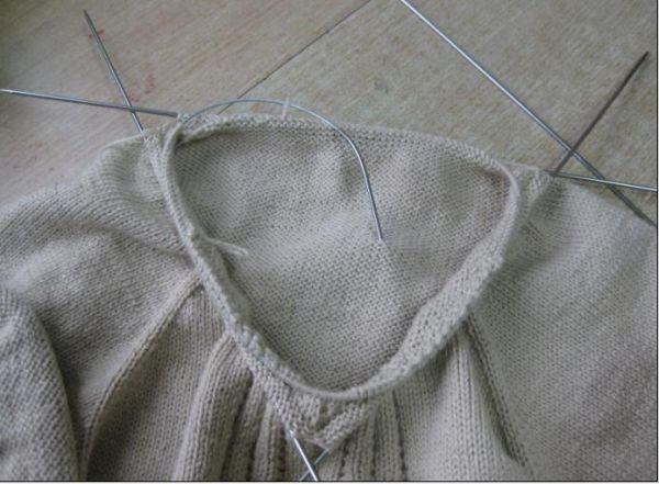 简化版机织领 - 停留 - 停留编织博客