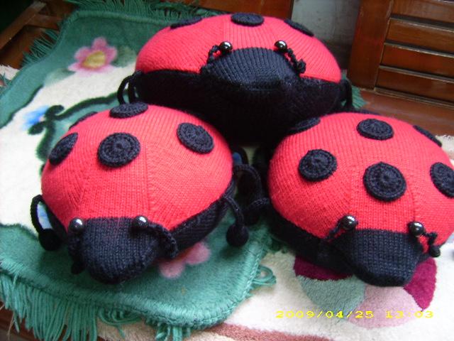 瓢虫的织法 - 停留 - 停留编织博客