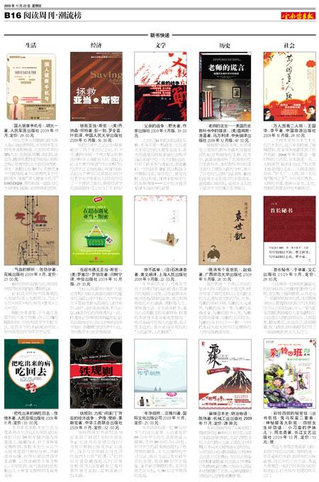 文汇读书周报、西部时报、云南信息报推介晚… - 赵焰 - 赵焰的博客