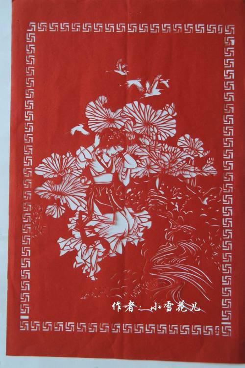 精品剪纸--帅气小军官 - 竹子 - wangshujie.962 的博客