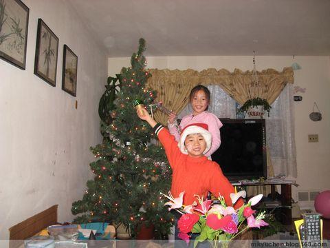 圣诞老人到我家 - 雨辰 - 雨辰的乐园