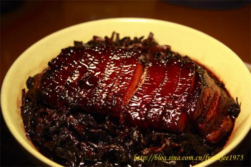 引用  梅菜扣肉+分解做法 - po321po - po321po的博客