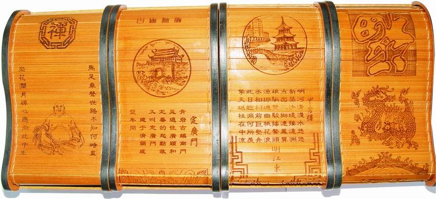 手工艺品--竹雕名片盒 - 春风 - 我在呼喊,希望有人听懂