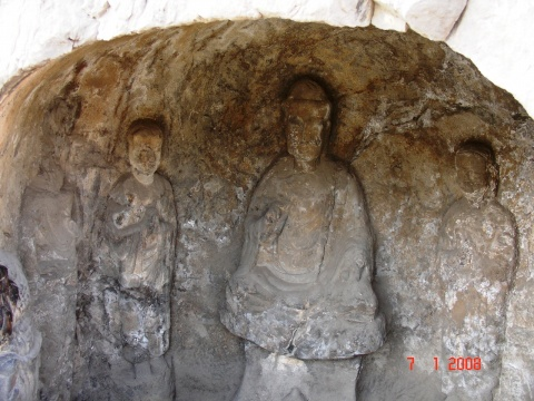游世界文化遗产-龙门石窟 - 赵金虎的书画博客 - 平地草堂