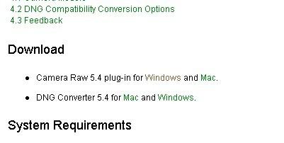 最新版 Adobe Camera Raw 5.4发布 - 杜炎鸣 - 眼裏呮ㄚОㄩ