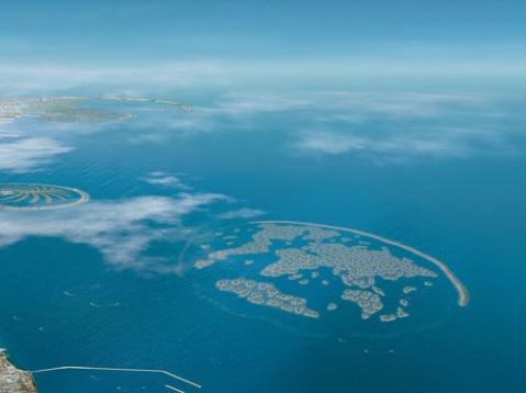 [组图] 世界第八大奇迹 史上最大人工工程—迪拜棕榈岛 - 路人@行者 - 路人@行者
