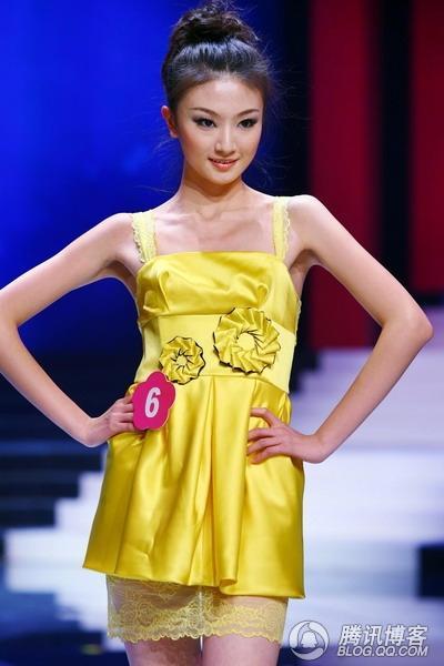 2008广东内衣模特大赛