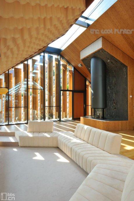斯洛文尼亚前卫二合一石木住宅 - 何泛泛 - 何泛泛 IT独唱团
