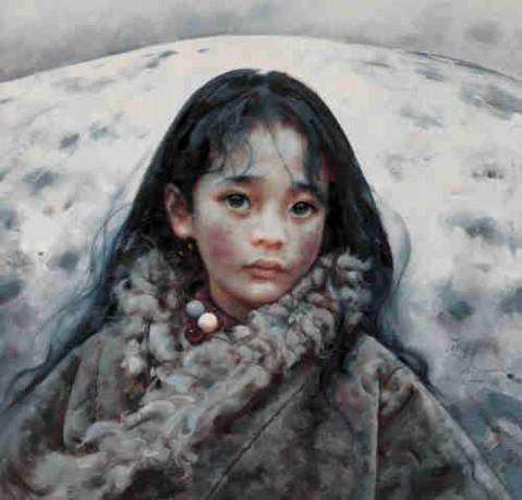 穿透孤独的眼睛---记画家艾轩 - 天高.我翔 - 艺术世界