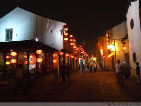 恍若隔世:夜游苏州山塘河 - 如果 - 我的博客