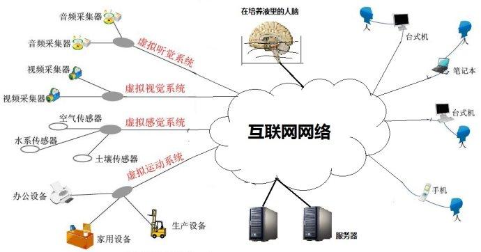 死后存活在互联网的大脑应用结构图 - 刘锋 - 互联网进化论--刘锋