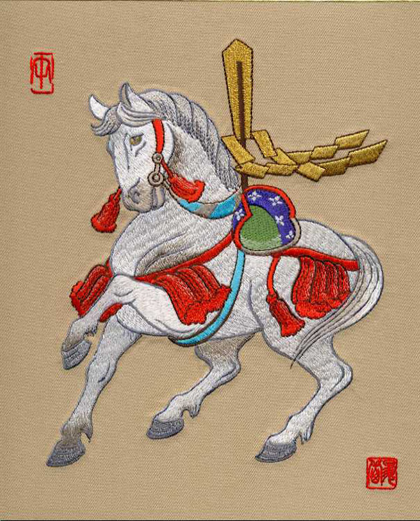 引用  精致12生肖刺绣图 - 幻美丽人 - 江语良言——星星点灯