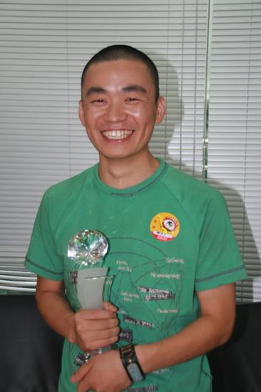 许三多喜获最佳男演员奖 - 王宝强 - 王宝强 的博客
