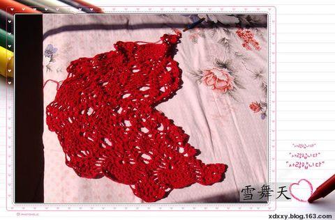 大菠萝花披肩围巾 - 画画 - 我的博客