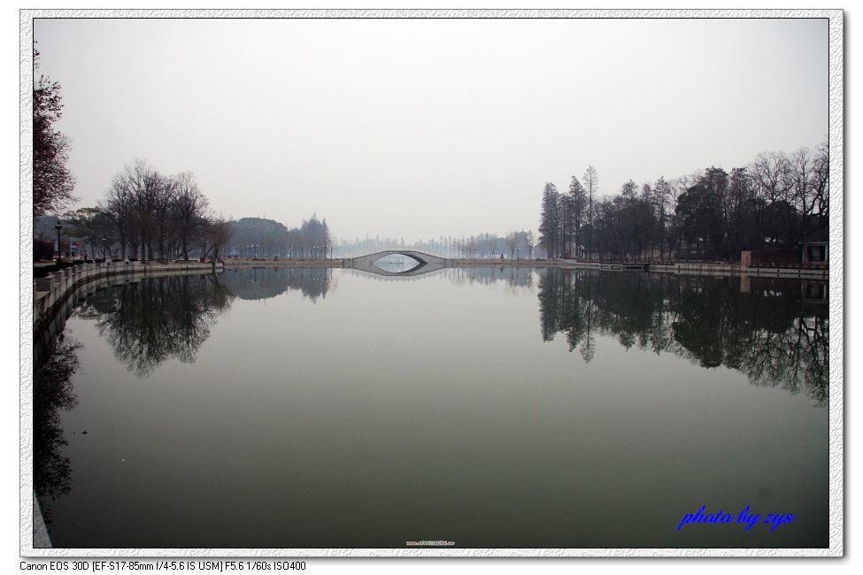 武汉东湖冬色冷【原】 - 自由诗 - 人文历史自然 诗词曲赋杂谈