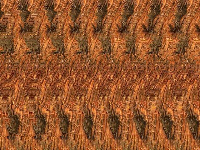 我的三维立体画欣赏 - 沉默是金 -   沉默是金de家园