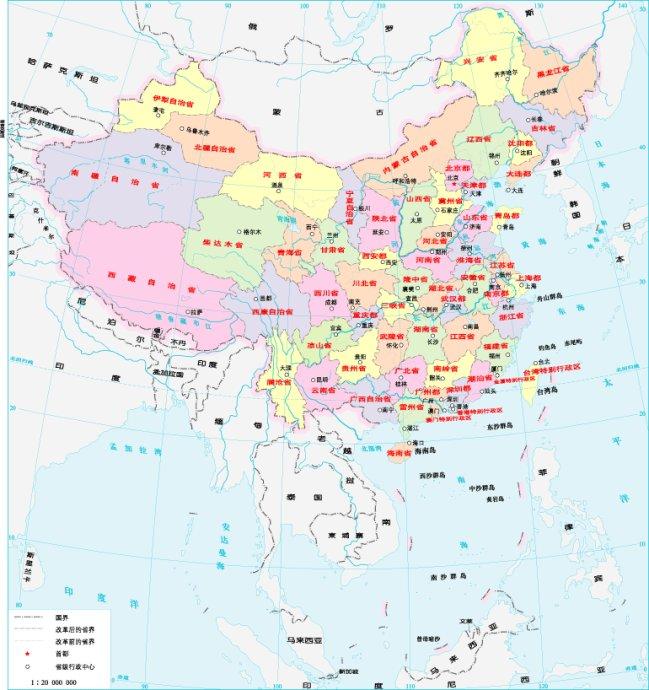 [转载]中国省份即将重新划分,由31增到50个省